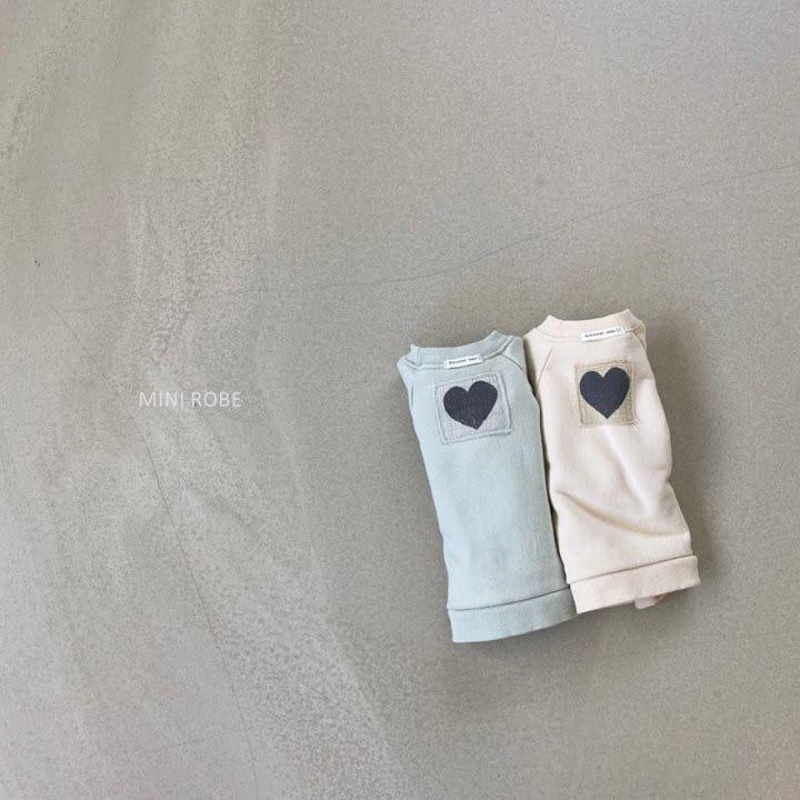 MINI ROBE - Korean Children Fashion - #Kfashion4kids - Heart Sweatshirt - 10