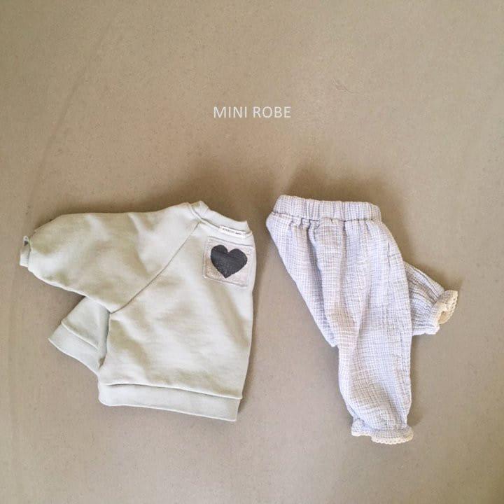 MINI ROBE - Korean Children Fashion - #Kfashion4kids - Heart Sweatshirt - 9