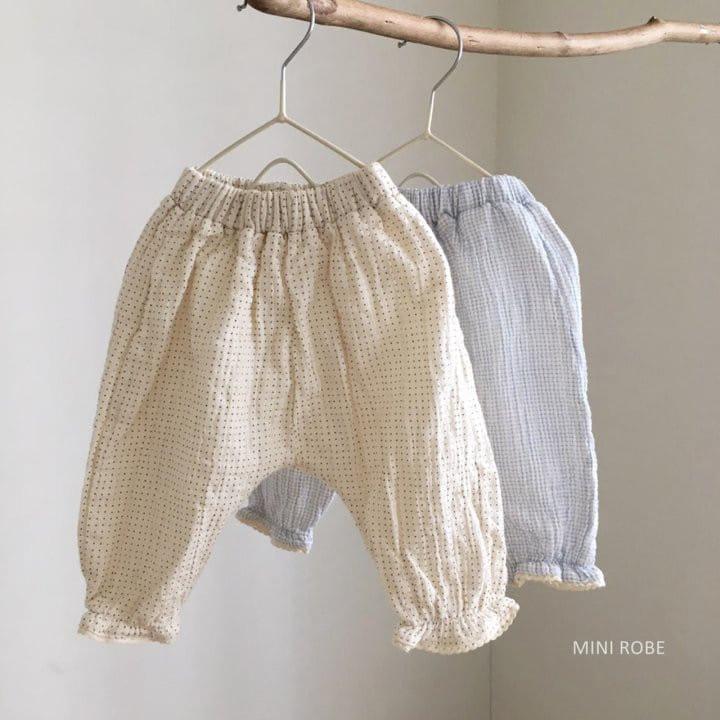 MINI ROBE - BRAND - Korean Children Fashion - #Kfashion4kids - Sausage Pants