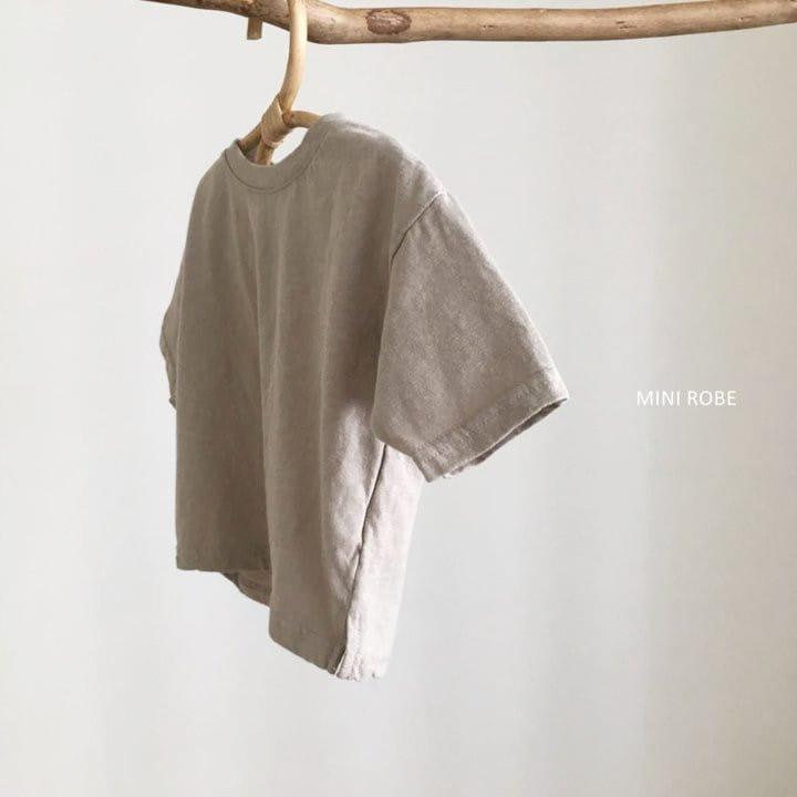 MINI ROBE - Korean Children Fashion - #Kfashion4kids - Malrang Short Sleeve Tee