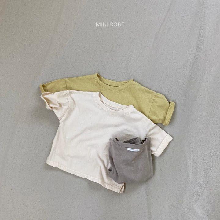 MINI ROBE - Korean Children Fashion - #Kfashion4kids - Malrang Short Sleeve Tee - 11