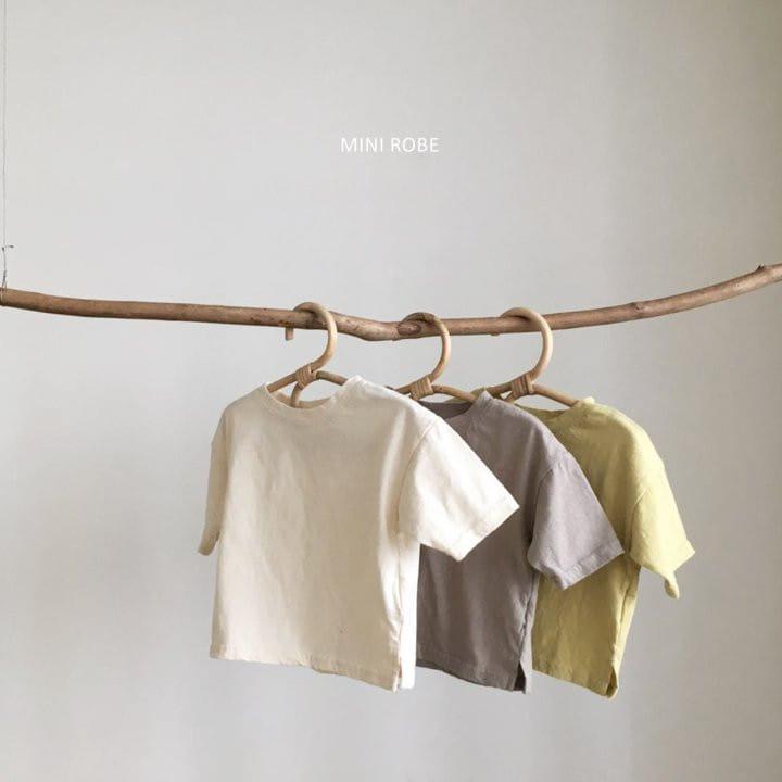 MINI ROBE - Korean Children Fashion - #Kfashion4kids - Malrang Short Sleeve Tee - 2