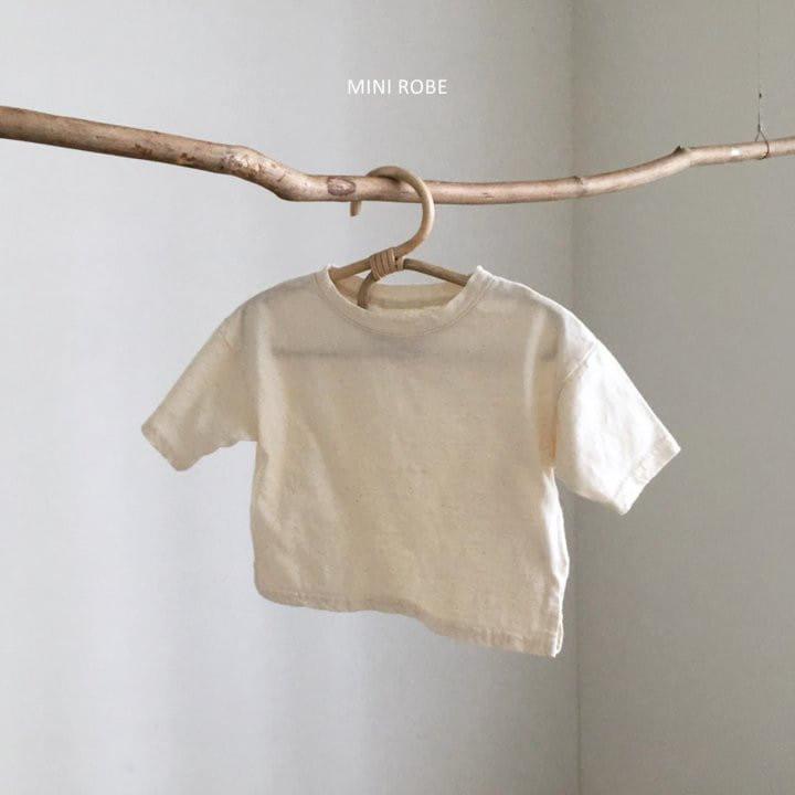 MINI ROBE - Korean Children Fashion - #Kfashion4kids - Malrang Short Sleeve Tee - 3
