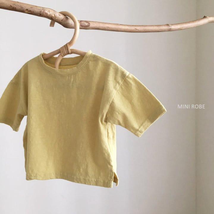 MINI ROBE - Korean Children Fashion - #Kfashion4kids - Malrang Short Sleeve Tee - 4