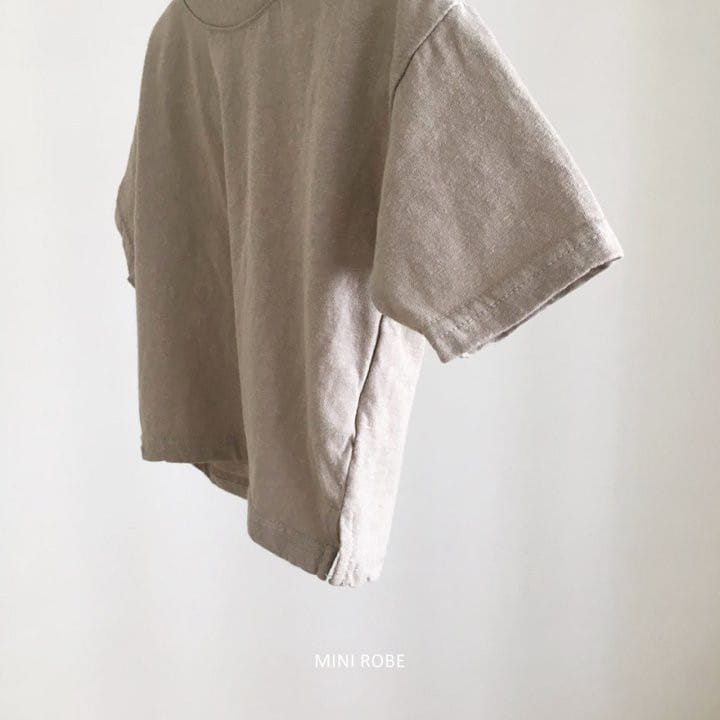 MINI ROBE - Korean Children Fashion - #Kfashion4kids - Malrang Short Sleeve Tee - 5