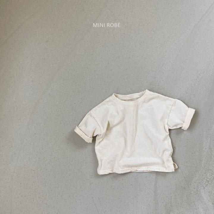 MINI ROBE - Korean Children Fashion - #Kfashion4kids - Malrang Short Sleeve Tee - 6