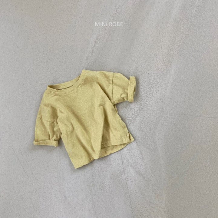 MINI ROBE - Korean Children Fashion - #Kfashion4kids - Malrang Short Sleeve Tee - 7