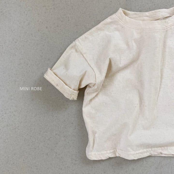 MINI ROBE - Korean Children Fashion - #Kfashion4kids - Malrang Short Sleeve Tee - 8