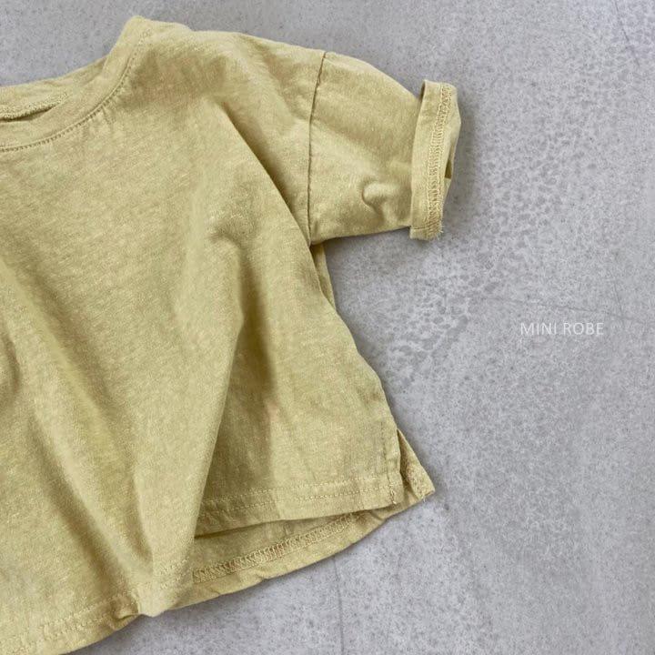 MINI ROBE - Korean Children Fashion - #Kfashion4kids - Malrang Short Sleeve Tee - 9