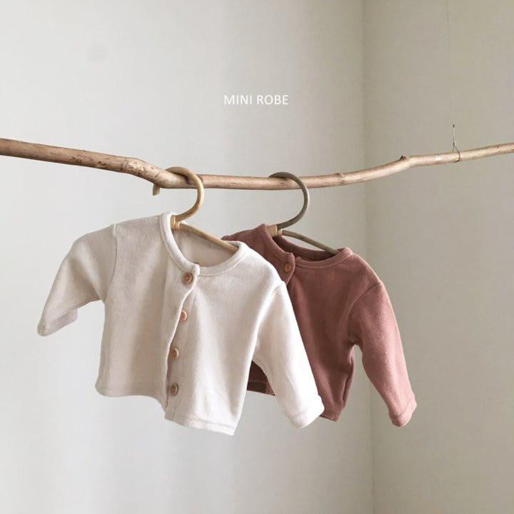 MINI ROBE - Korean Children Fashion - #Kfashion4kids - Teddy Top Bottom Set
