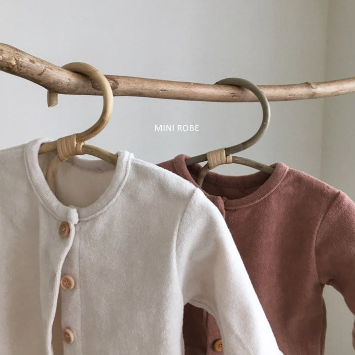 MINI ROBE - Korean Children Fashion - #Kfashion4kids - Teddy Top Bottom Set - 10
