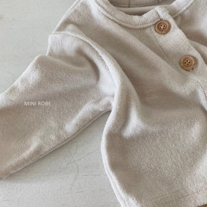 MINI ROBE - Korean Children Fashion - #Kfashion4kids - Teddy Top Bottom Set - 7