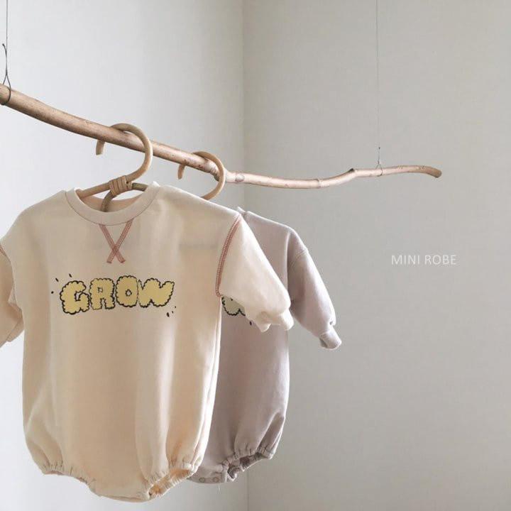MINI ROBE - Korean Children Fashion - #Kfashion4kids - Grow Bodysuit
