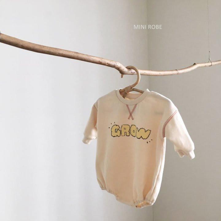 MINI ROBE - Korean Children Fashion - #Kfashion4kids - Grow Bodysuit - 2