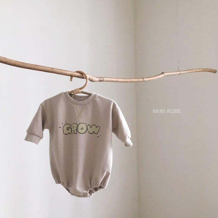 MINI ROBE - Korean Children Fashion - #Kfashion4kids - Grow Bodysuit - 3