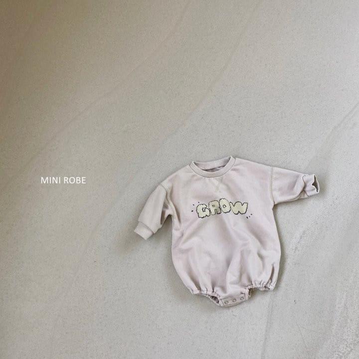MINI ROBE - Korean Children Fashion - #Kfashion4kids - Grow Bodysuit - 5