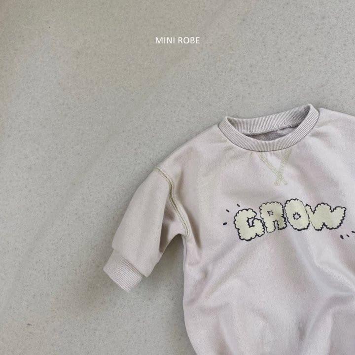 MINI ROBE - Korean Children Fashion - #Kfashion4kids - Grow Bodysuit - 6
