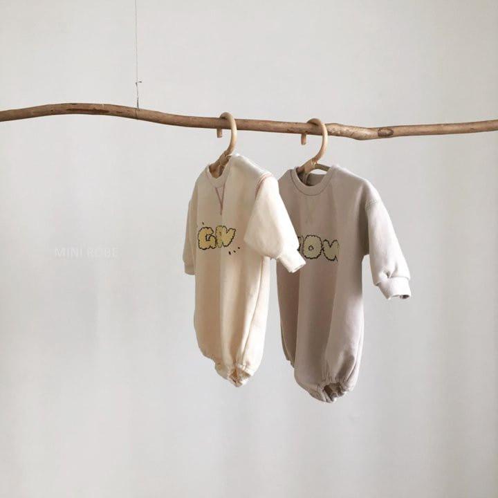 MINI ROBE - Korean Children Fashion - #Kfashion4kids - Grow Bodysuit - 9