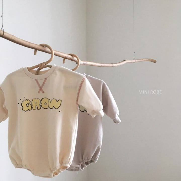 MINI ROBE - BRAND - Korean Children Fashion - #Kfashion4kids - Grow Bodysuit