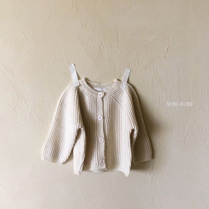 MINI ROBE - Korean Children Fashion - #Kfashion4kids - Robe Cardigan