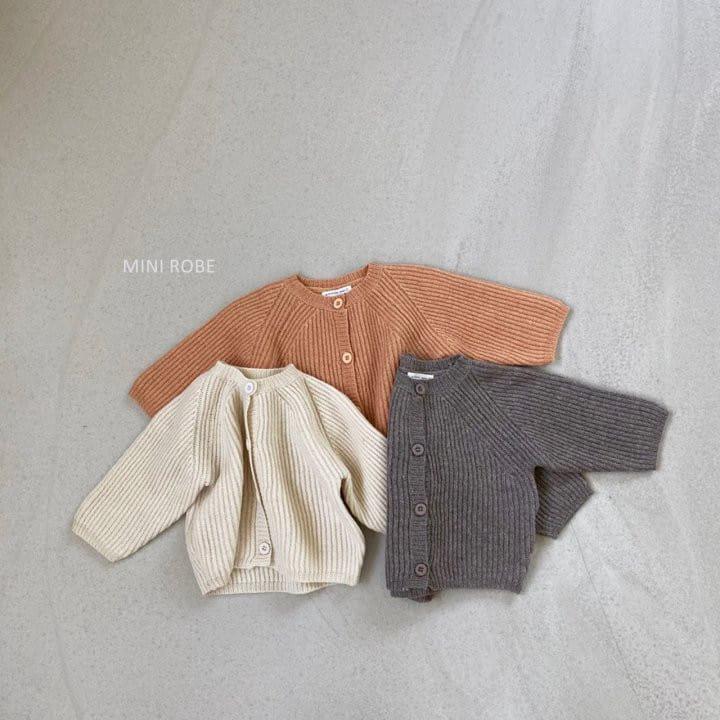 MINI ROBE - Korean Children Fashion - #Kfashion4kids - Robe Cardigan - 2
