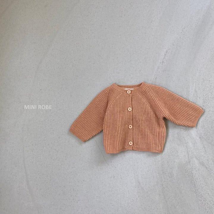 MINI ROBE - Korean Children Fashion - #Kfashion4kids - Robe Cardigan - 3