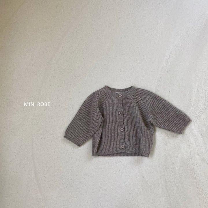 MINI ROBE - Korean Children Fashion - #Kfashion4kids - Robe Cardigan - 4