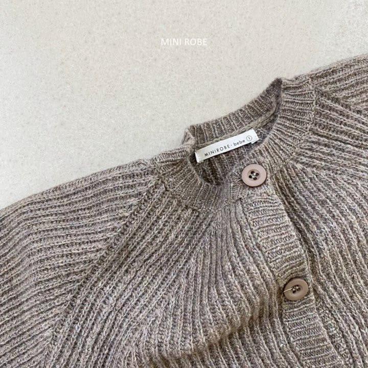 MINI ROBE - Korean Children Fashion - #Kfashion4kids - Robe Cardigan - 7