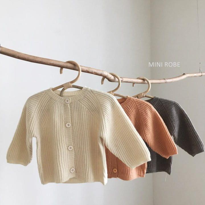 MINI ROBE - Korean Children Fashion - #Kfashion4kids - Robe Cardigan - 9