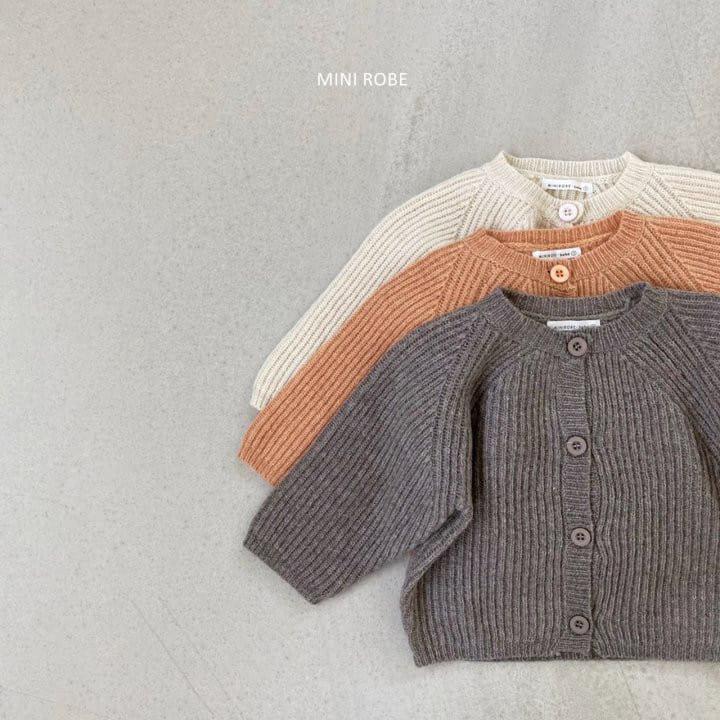MINI ROBE - BRAND - Korean Children Fashion - #Kfashion4kids - Robe Cardigan