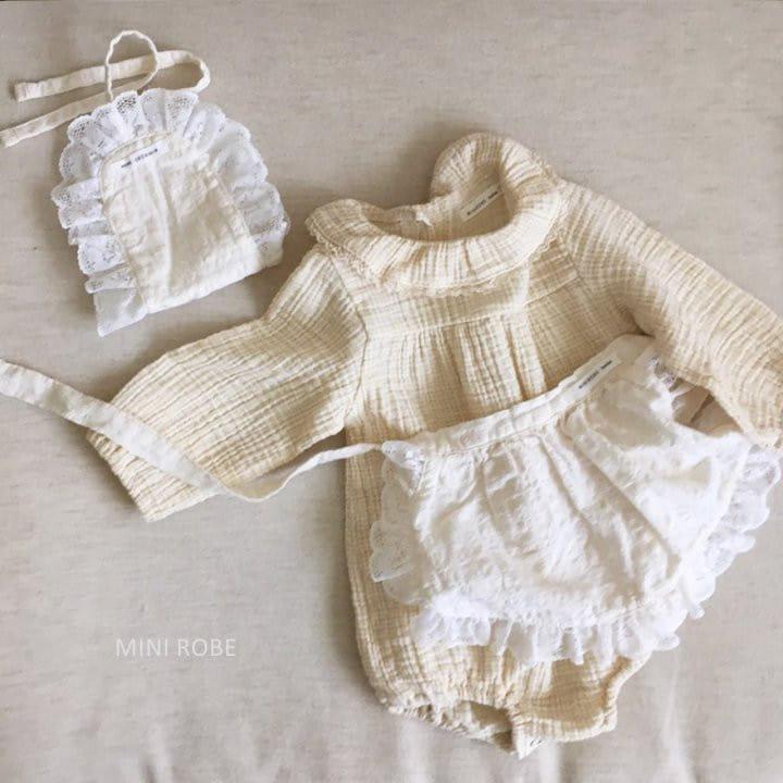 MINI ROBE - Korean Children Fashion - #Kfashion4kids - French Bonnet - 11