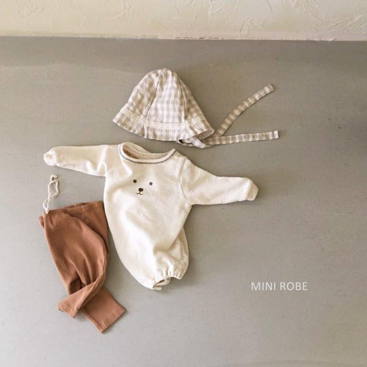 MINI ROBE - Korean Children Fashion - #Kfashion4kids - Linen Bucket Hat - 10