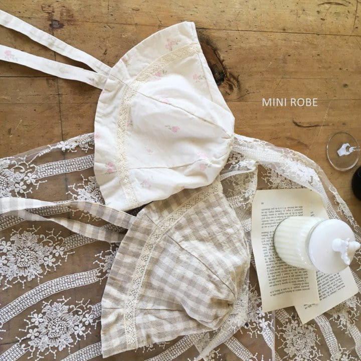 MINI ROBE - Korean Children Fashion - #Kfashion4kids - Linen Bucket Hat - 3
