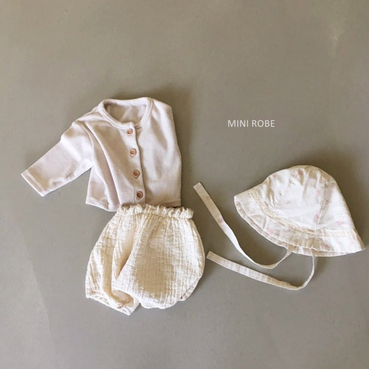 MINI ROBE - Korean Children Fashion - #Kfashion4kids - Linen Bucket Hat - 6