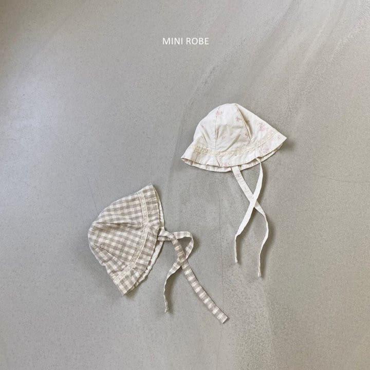 MINI ROBE - Korean Children Fashion - #Kfashion4kids - Linen Bucket Hat - 8
