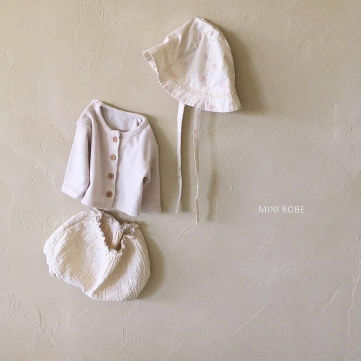 MINI ROBE - Korean Children Fashion - #Kfashion4kids - Linen Bucket Hat - 9