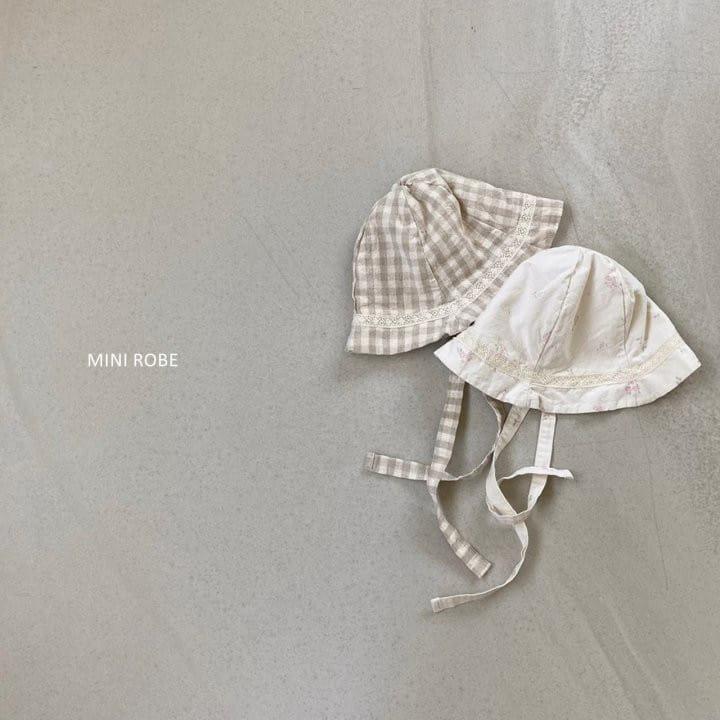 MINI ROBE - BRAND - Korean Children Fashion - #Kfashion4kids - Linen Bucket Hat