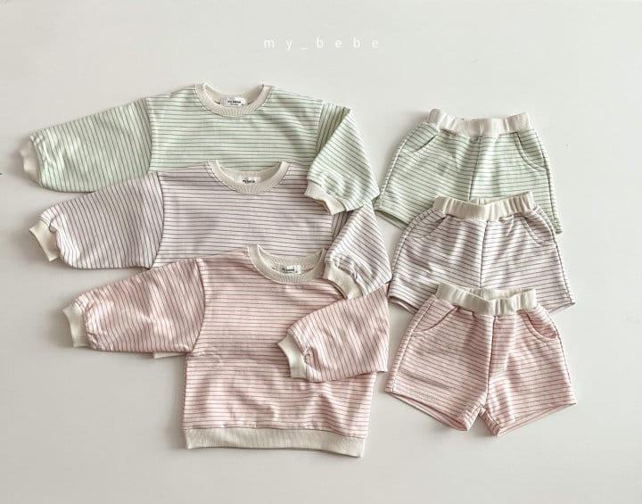 MY BEBE - Korean Children Fashion - #Kfashion4kids - Daily Shorts Set - 10