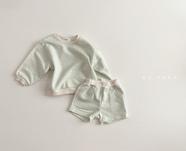 MY BEBE - Korean Children Fashion - #Kfashion4kids - Daily Shorts Set - 4