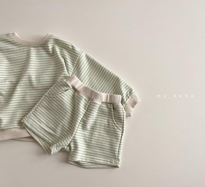 MY BEBE - Korean Children Fashion - #Kfashion4kids - Daily Shorts Set - 5
