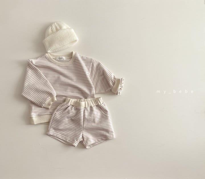 MY BEBE - Korean Children Fashion - #Kfashion4kids - Daily Shorts Set - 6
