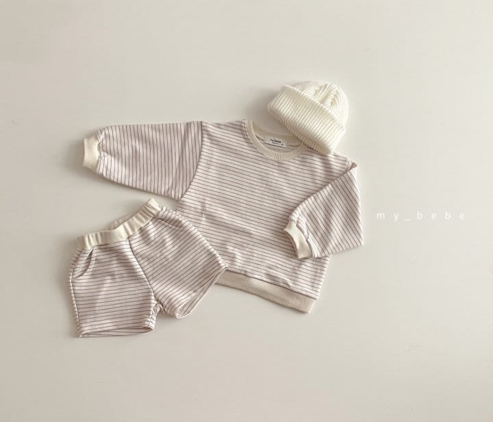MY BEBE - Korean Children Fashion - #Kfashion4kids - Daily Shorts Set - 7