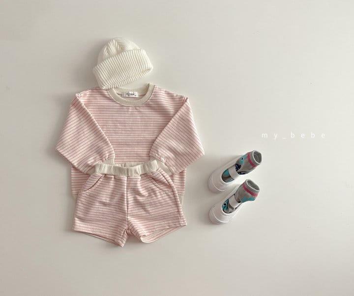 MY BEBE - Korean Children Fashion - #Kfashion4kids - Daily Shorts Set - 8