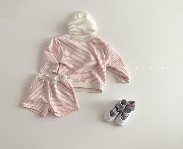 MY BEBE - Korean Children Fashion - #Kfashion4kids - Daily Shorts Set - 9