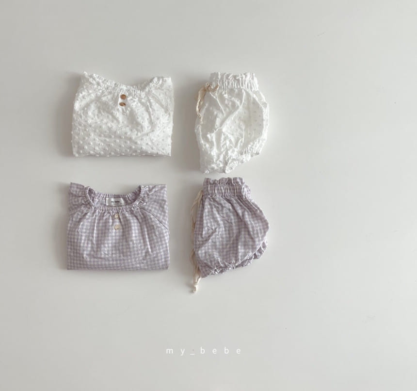 MY BEBE - BRAND - Korean Children Fashion - #Kfashion4kids - Oz Bloomer Set