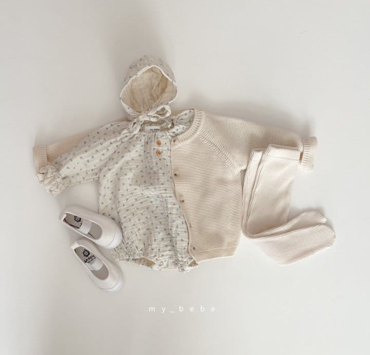 MY BEBE - Korean Children Fashion - #Kfashion4kids - Star Shirring Bodysuit - 7