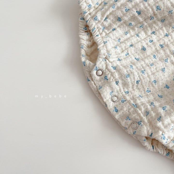 MY BEBE - Korean Children Fashion - #Kfashion4kids - Star Shirring Bodysuit - 8