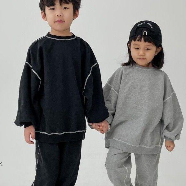 NRK - BRAND - Korean Children Fashion - #Kfashion4kids - New Odd Top Pants Set