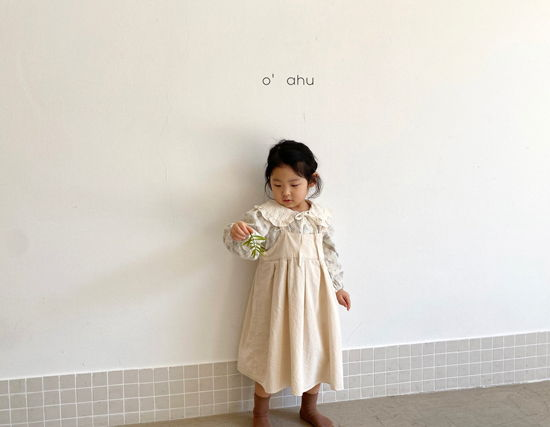 O'AHU - Korean Children Fashion - #Kfashion4kids - Nelly Apron One-piece