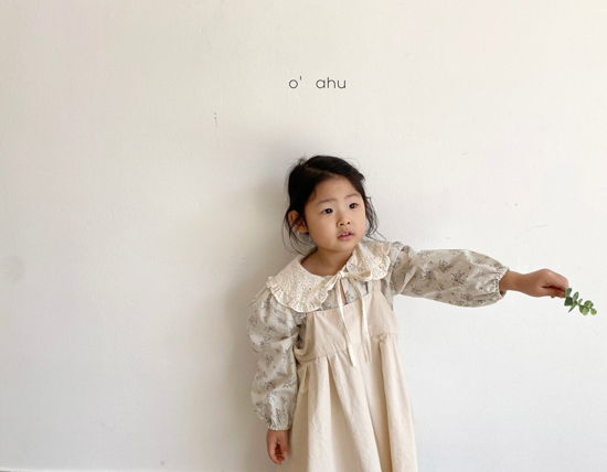 O'AHU - Korean Children Fashion - #Kfashion4kids - Nelly Apron One-piece - 4